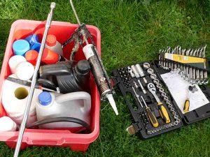 Spanners, oils, sealants amd more