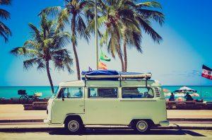 Volkswagen classic campervan