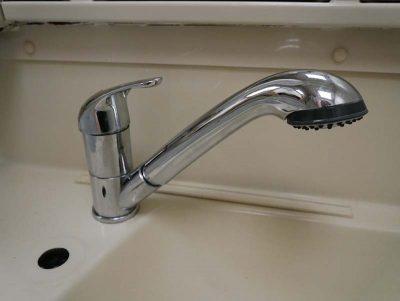 Hymer bathroom Tap