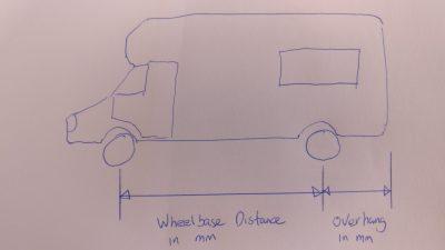Sketch of Motorhome